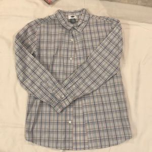 Long sleeve Old Navy button down Boys XL 14/16
